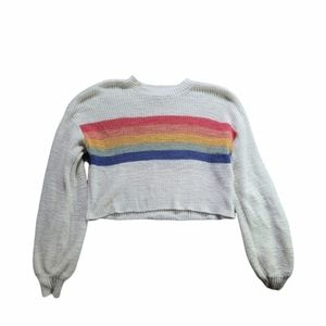 American Eagle knit Crop Sweater Size XS